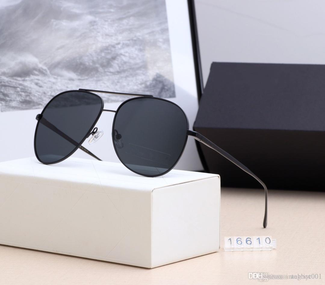 b989024a370d Designer Brand New Classic Pilot Sunglasses Fashion Women Sun Glasses Vassl  Uv400 Matte Gold Frame Green Mirror 58mm Lens With Box Cheap Eyeglasses  Online ...