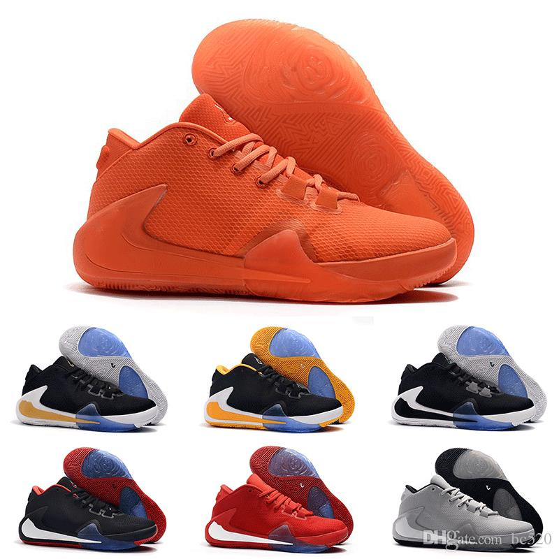 2019 New Arrival Mens Freak 1 Giannis Antetokounmpo 1s Basketball Shoes For Cheap Athletic Zoom GA1 Luxury Sneakers Fast Shipping Size40-46
