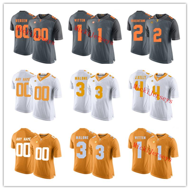 100% authentic 8d8df 7c410 NCAA Tennessee Volunteers Trey Smith Football Jersey Kyle Phillips Keller  Chryst Zac Jancek Austin Smith Nigel Warrior Tennessee Jersey