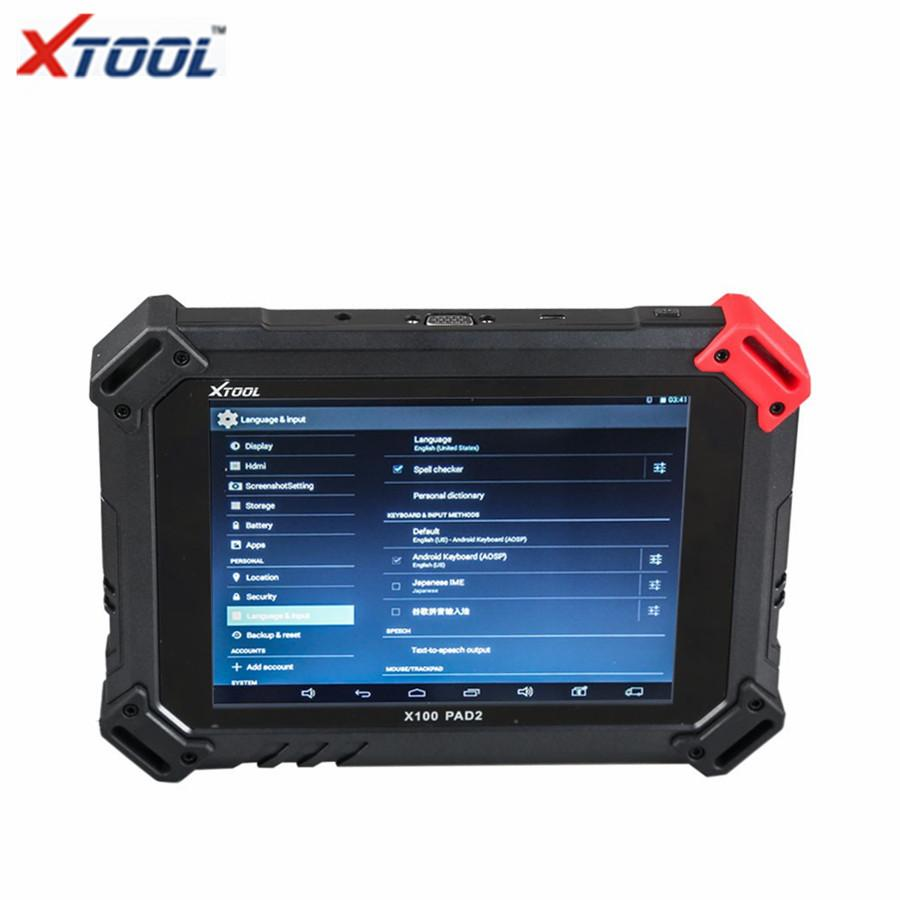 XTOOL X-100 X100 PAD 2 Wifi Key Programmer Special Functions Expert Update Version of X100 PAD2 Pro Auto OBD Diagnostic Scanner