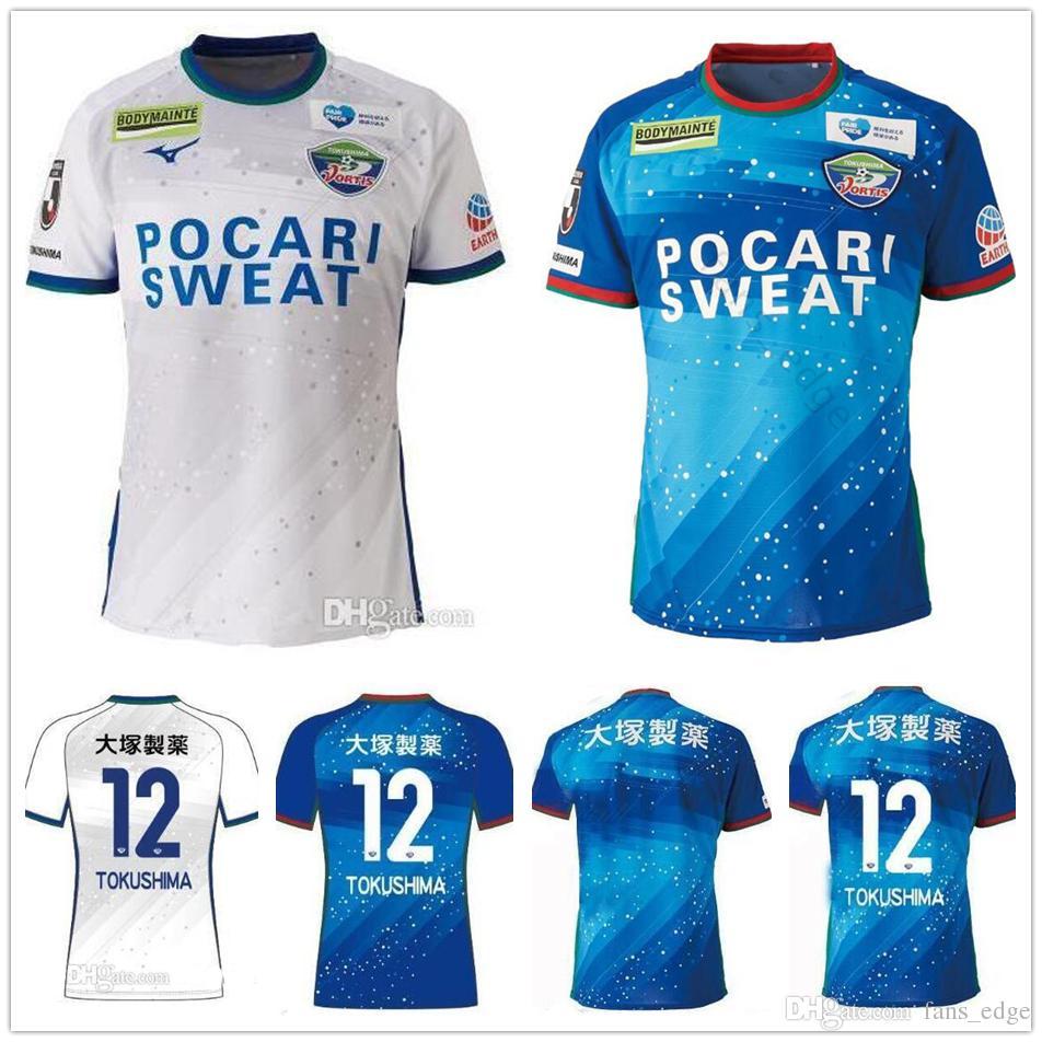 8c5cac9266a 2019 2019 Vortis Tokushima Soccer Jersey Home Away 19 20 Japan J.League  Naoki Nomura Jordy Buijs Ken Iwao Koki Kiyotake Customize Football Shirt  From ...