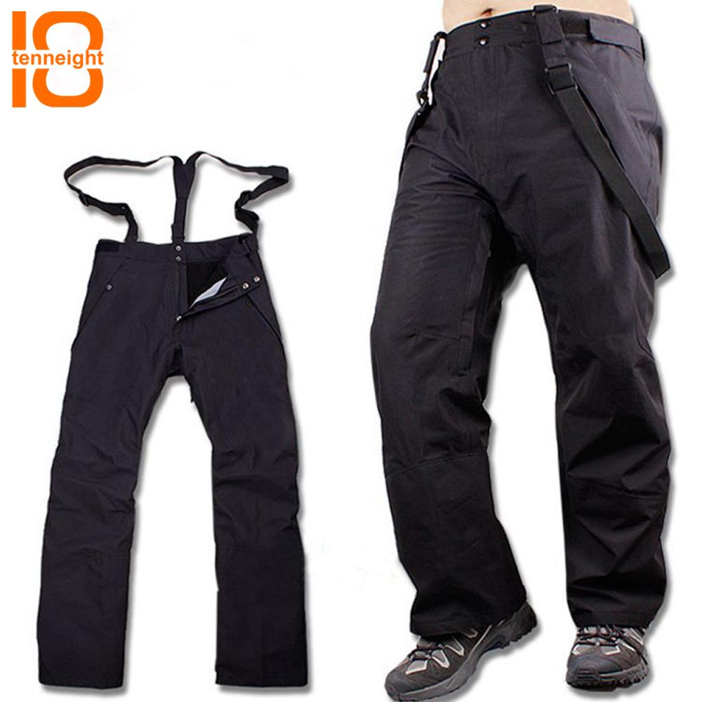 5a11c8d25d TENNEIGHT Outdoor Winter Ski Pants Men Fleece Detachable Ski Pants ...