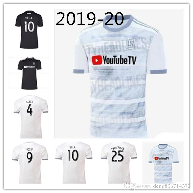 4a9ebb1ad 2019 Player Version MLS 2019 LAFC Soccer Jersey Away Los Angeles FC  Football Shirt ZELAYA ROSSI VELA ZIMMERMAN More Free DHL Shipping From  Deng806714372