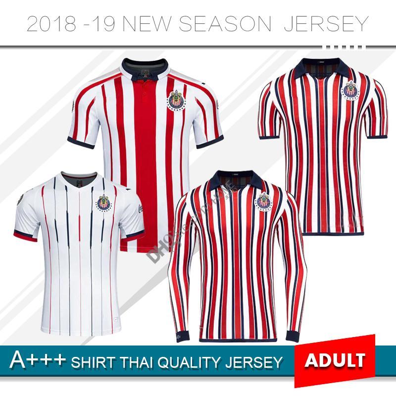 2c524358c 2019 2020 Chivas Soccer Jersey Deportivo Guadalajara Jersey Home Away 19/20  Chivas Long Sleeve Special Version Football Shirts Uniforms From  Homejersey, ...