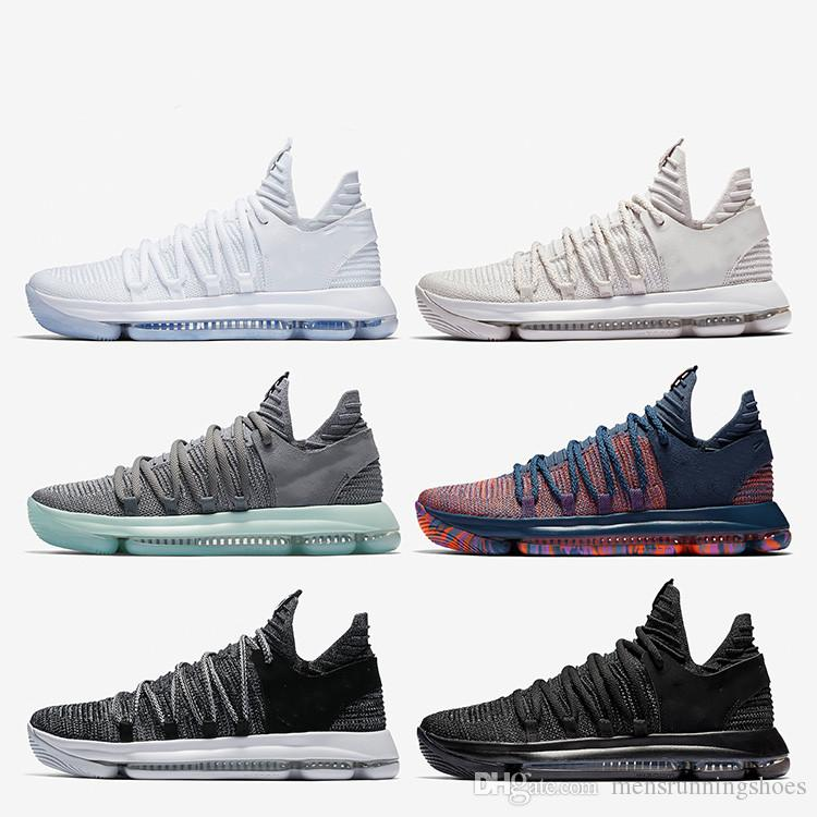 pretty nice c4e7b 3a4bd 2019 Zoom KD 10 Men Basketball Shoes Anniversary University Red Still Kd  Igloo BETRUE Oreo Shoe USA Kevin Durant Elite KD10 Sport Sneakers KDX From  ...