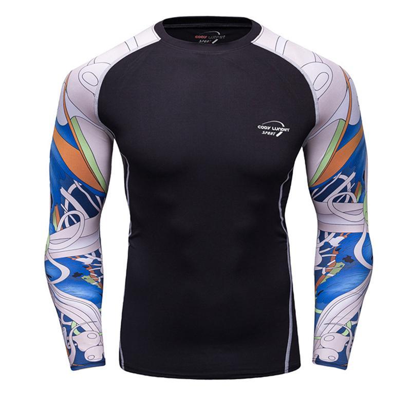 T Corsa Acquista Uomo Da A Maniche Shirt Magliette Quick Lunghe gYvIf6mb7y