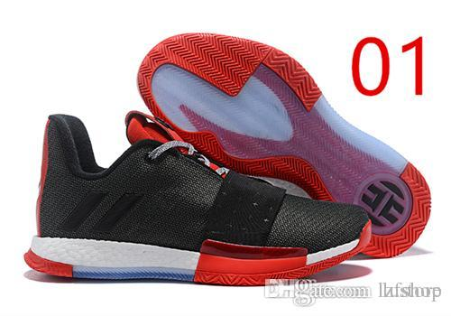 103744f870f 2019 New Harden Vol. 3 MVP Basketball Shoes Men Red Grey Black James Harden  3s III Outdoor Trainers Sports Running Shoes LZFSHOP Harden Vol.
