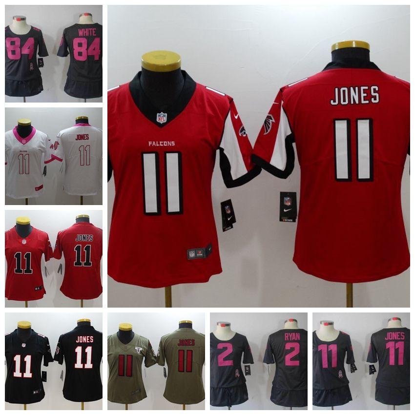 9eb9ed03 11 Julio Jones 18 Ridley Atlanta Falcons Jersey 2 Matt Ryan 21 Deion  Sanders 24 Devonta Freeman Women Jerseys