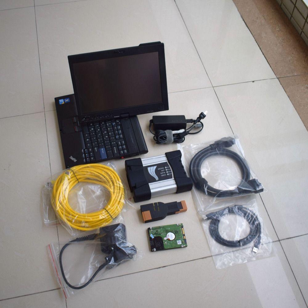 Best For BMW ICOM Software V2016 09 for BMW ICOM NEXT A+B+C Plus X201  Laptop i7 Diagnostic Programming Tool Hot Sale ICOM NEXT