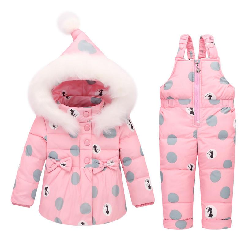 137c99801 BibiCola Winter Girls Clothing Sets Outerwear Clothing Girls Thick ...