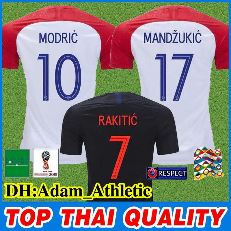 1a45a6d84 Nations League Croatian Jersey 2018 World Cup PERISIC RAKITIC ...