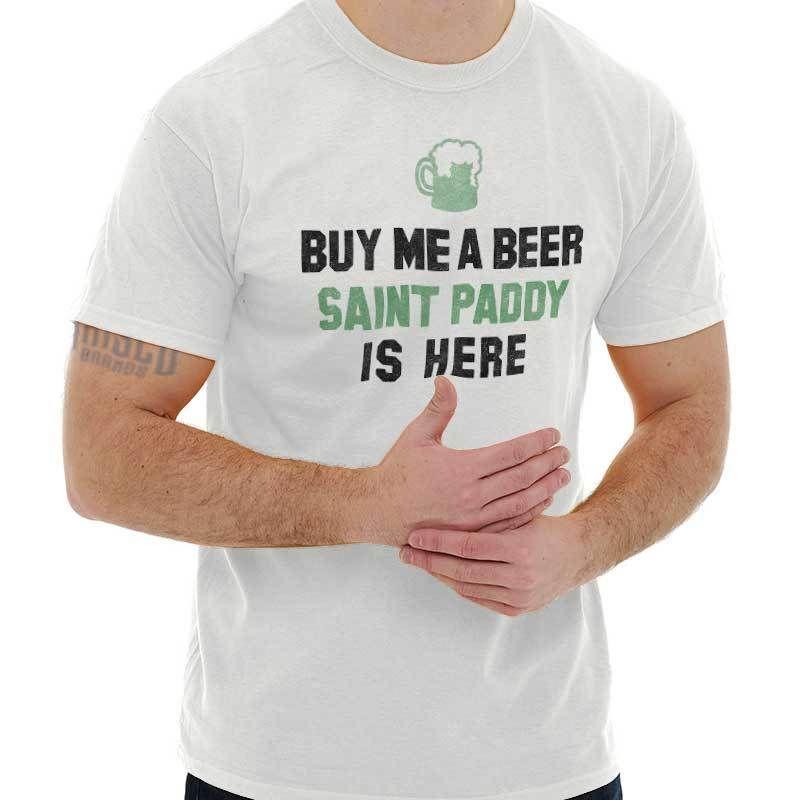 883eaf167 Saint Paddy Funny Shirt St Patrick Day Gift Patty Clover Beer T Shirt  Really Cool T Shirts Online Shopping T Shirt From Artmuz88, $10.76|  DHgate.Com