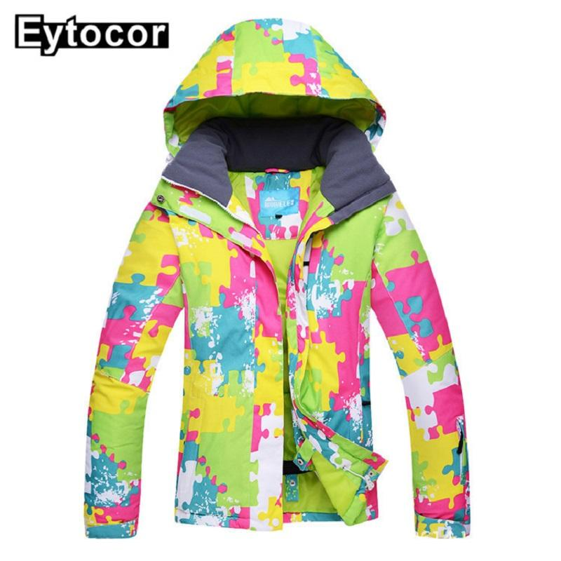 2018 New Waterproof Ski Suit Women Ski Jacket Pants Female Winter Outdoor Skiing Snow Snowboard Jacket Pants Snowboard Sets Making Things Convenient For Customers Snowboarding Sets