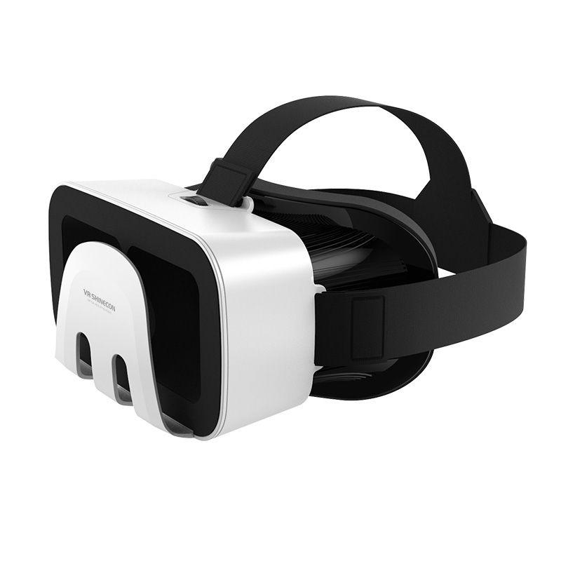 782f7f7000165 Compre VR SHINECON Óculos VR Realidade Virtual 3D Óculos De Ovos De Páscoa  Jogos De Filmes Para 4.0 6.0 Polegada Smartphone Universal De Umbre, ...
