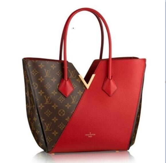 269d1e1dad34 2019 Louis Vuitton Fashion Women Bags Lady Leather Handbags Wallet Shoulder  Bag Tote Clutch Women Bags For Women A018 Leather Satchel Ladies Bags From  ...