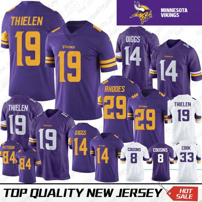 7b68e934c 2019 19 Adam Thielen 14 Stefon Diggs Minnesota 22 Harrison Smith Vikings  Jersey 8 Kirk Cousins 84 Randy Moss 33 Cook Hughes Hunter From  Fine quality jerseys ...