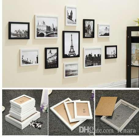 Miraculous 11Pcs Wall Hanging Photo Frame Set Family Picture Display Modern Art Home Decor For Hallway Bedroom Living Room Wall Decoration Download Free Architecture Designs Scobabritishbridgeorg
