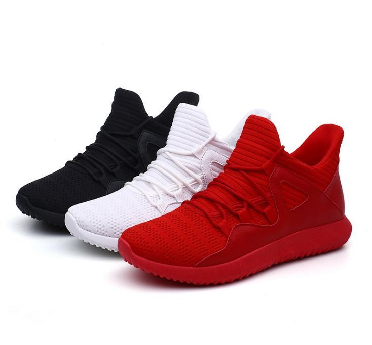 breathable running shoes HOT men's casual shoes travel men's sports shoes trend Korean large size 47,48 A52