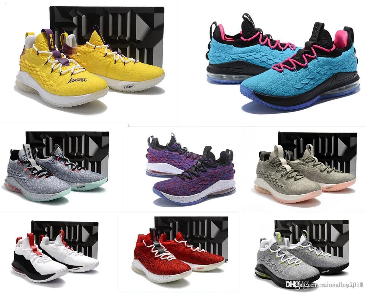 a36fd4e452ee 2019 What The Lebrons 15 XV Low Mens Basketball Shoes For Sale MVP  Christmas BHM Oreo Youth Kids Generation Sneakers Boots With Original Box  From ...