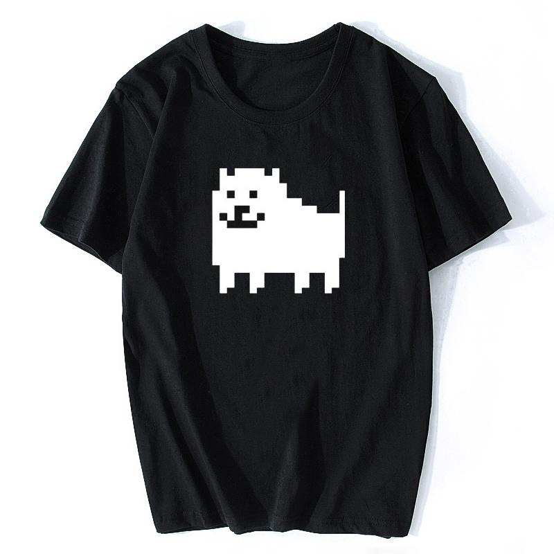 7e0043566 2019 HOT Men Fashion Game T Shirts Undertale Annoying Dog Printed Anime  Cotton Casual Tees Customized Size Men T Shirt Crazy T Shirts Online Cool  Looking T ...