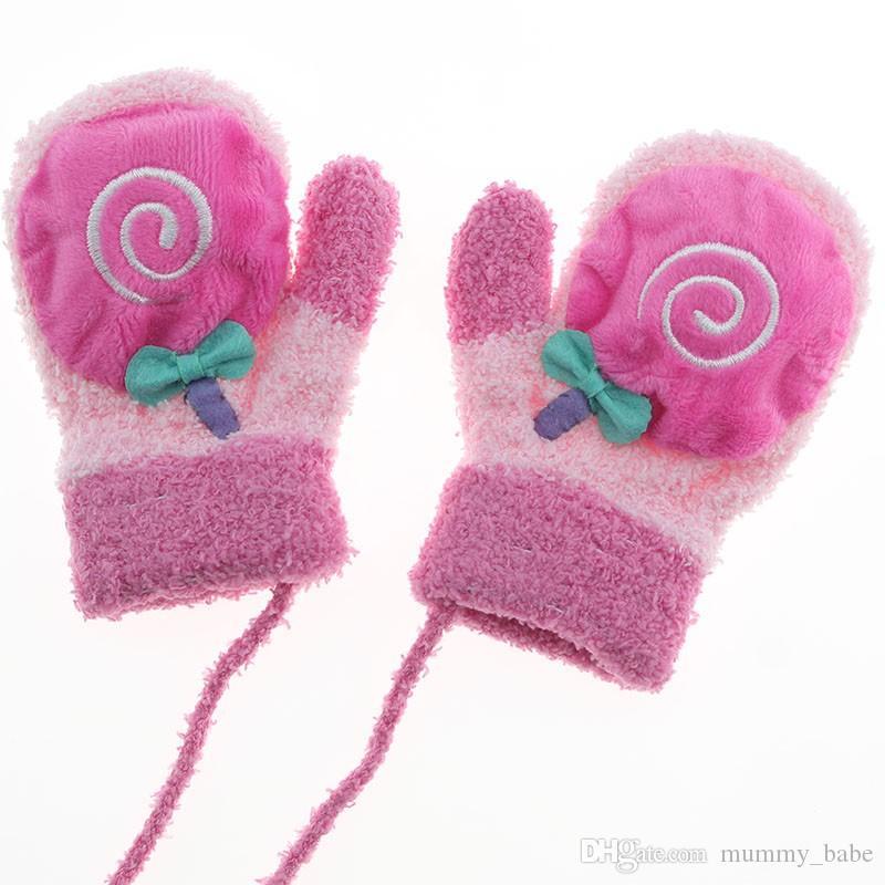 9e2d760c018a Cute Cartoon Thicken Warm Fleece Infant Baby Boys Girls Winter Warm ...