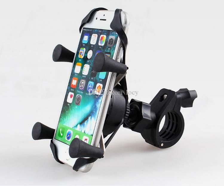 Motorcycle Phone Holder Rear View Mirror Moto mobile Support For Iphone 8 7 Plus S8 GPS Universal Motorbike Mount Bracket Stand
