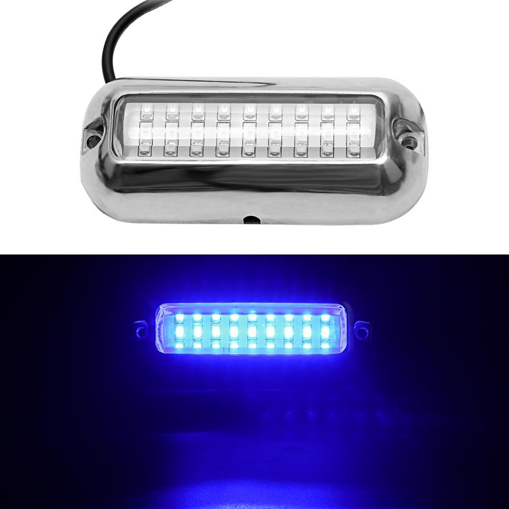 LED Marine Boat Transom Stern Light Stainless Steel Tail Lamp for Yachts  USA 10-30 VDC Marine Accessories