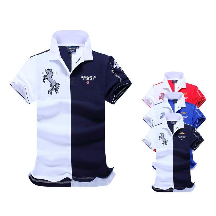 e289dd049 2019 Poloshirt Solid Polo Shirt Men Designer Luxury Polo Shirts Long Sleeve  Men S Basic Top Cotton Polos For Boys Brand Designer Polo Homme From  Heasimle