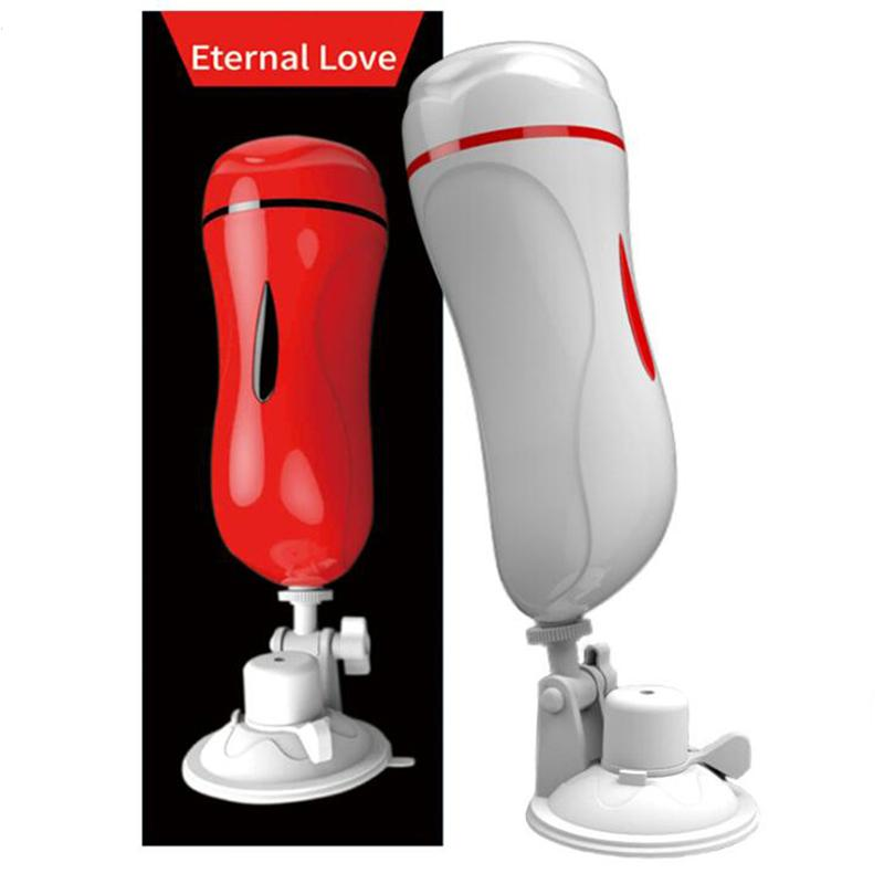 Mizzzee Vagina Anal Male Masturbator For Man Suction Cup Pocket Vagina Real Pussy Vibrator Sex Toys For Men Gay Erotic Products SH190726