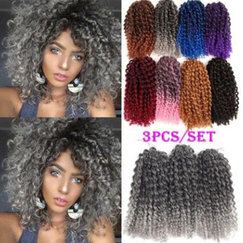 2019 Hot Malibobo Crochet Braids Kanekalon Braiding Hair 8inch