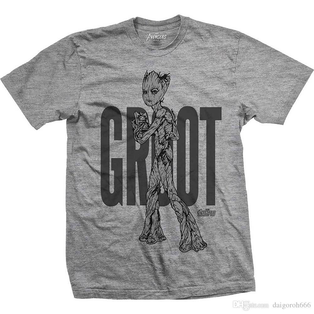 f7fc42062 Official Avengers Infinity War Teen Groot Marvel Comics T Shirt Buy T Shirt  Designs Printing Tee Shirts From Daigoroh666, $10.81| DHgate.Com
