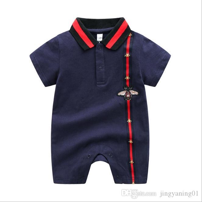 903cb5cff519a 2020 Summer Short Sleeved Jumpsuit For Newborn Romper Character Baby Boy  Clothes and Baby Girl Clothes 0-24 Baby Rompers Summer