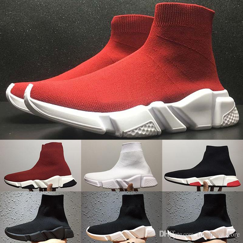 New Luxury Paris Sock Shoes Speed Trainer Running Shoes for Men Women Top Quality Casual Shoes Best Selling Trending Sneakers Size 36 45