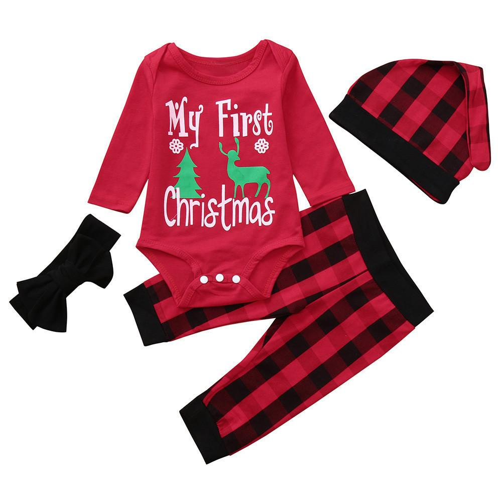 4f7d8ab4ffbb Good Quality Infant Baby Clothes Set Long Sleeve Letter Print ...