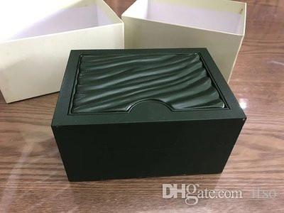 Drop Shipping Green Watch Original Box with Cards and Papers Certificates Handbags box for 116610 116660 116710 Watches
