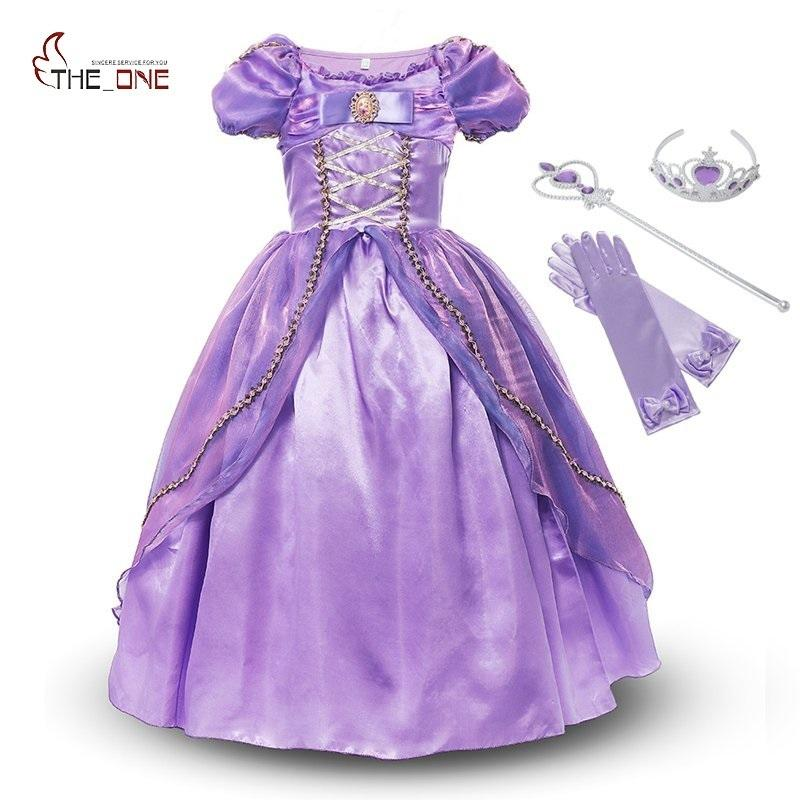 MUABABY Girls Summer Little Princess Toddler Kids Party Dress