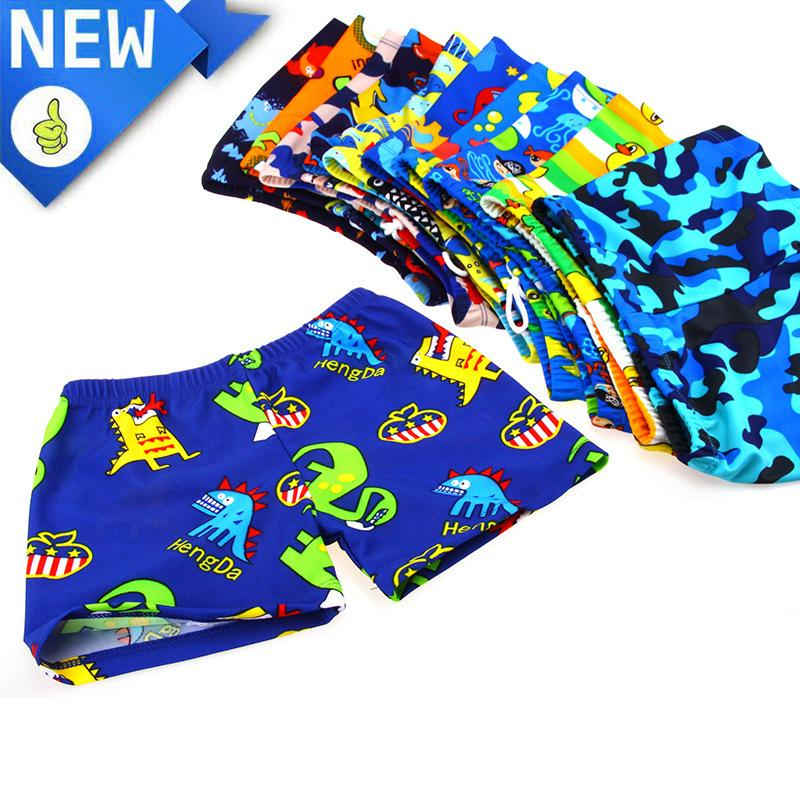 89f89be260 New Children Swimming Trunks For Boys Swimwear Quick-drying Short ...