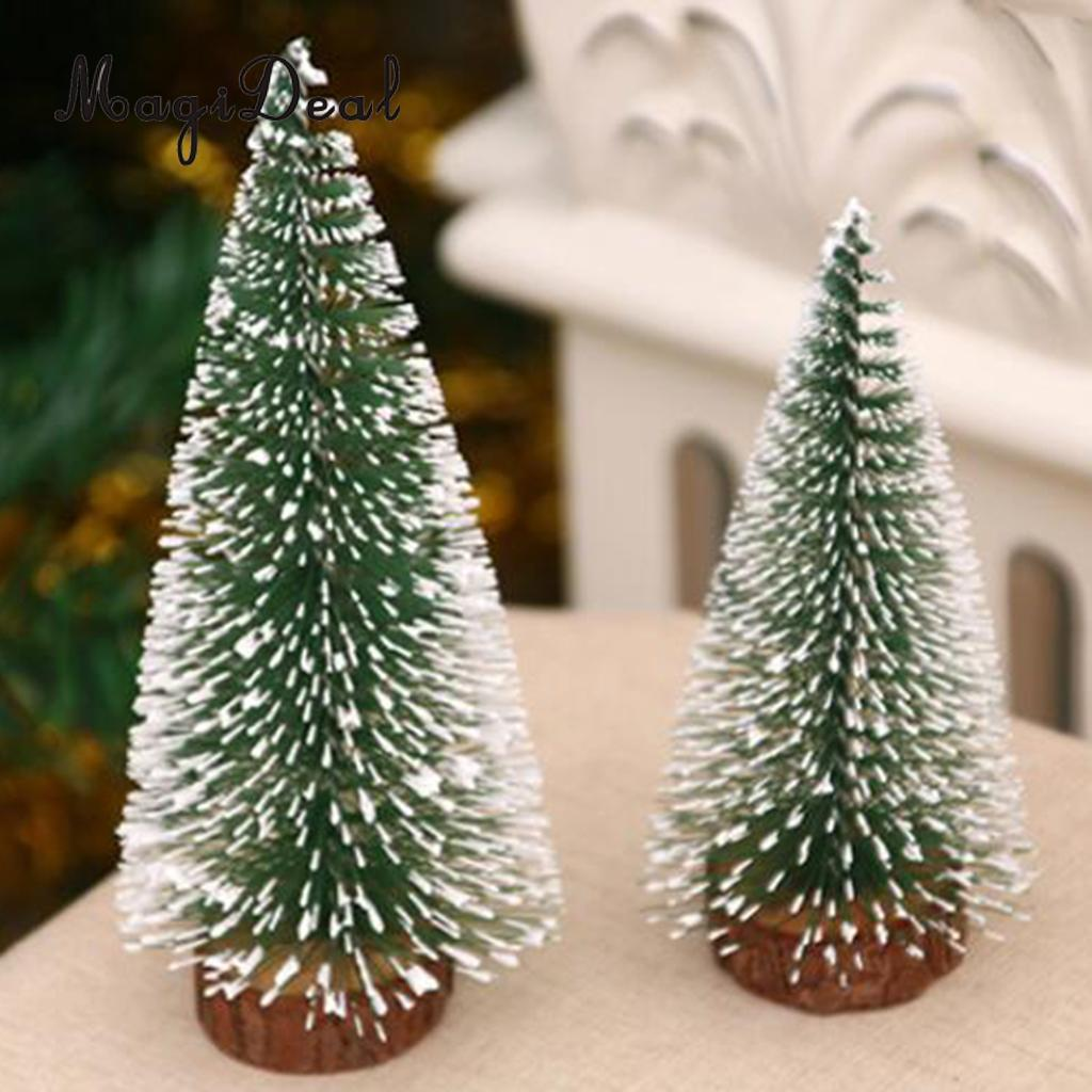 Magideal Artificial Tabletop Christmas Tree Festival Xmas Treetop