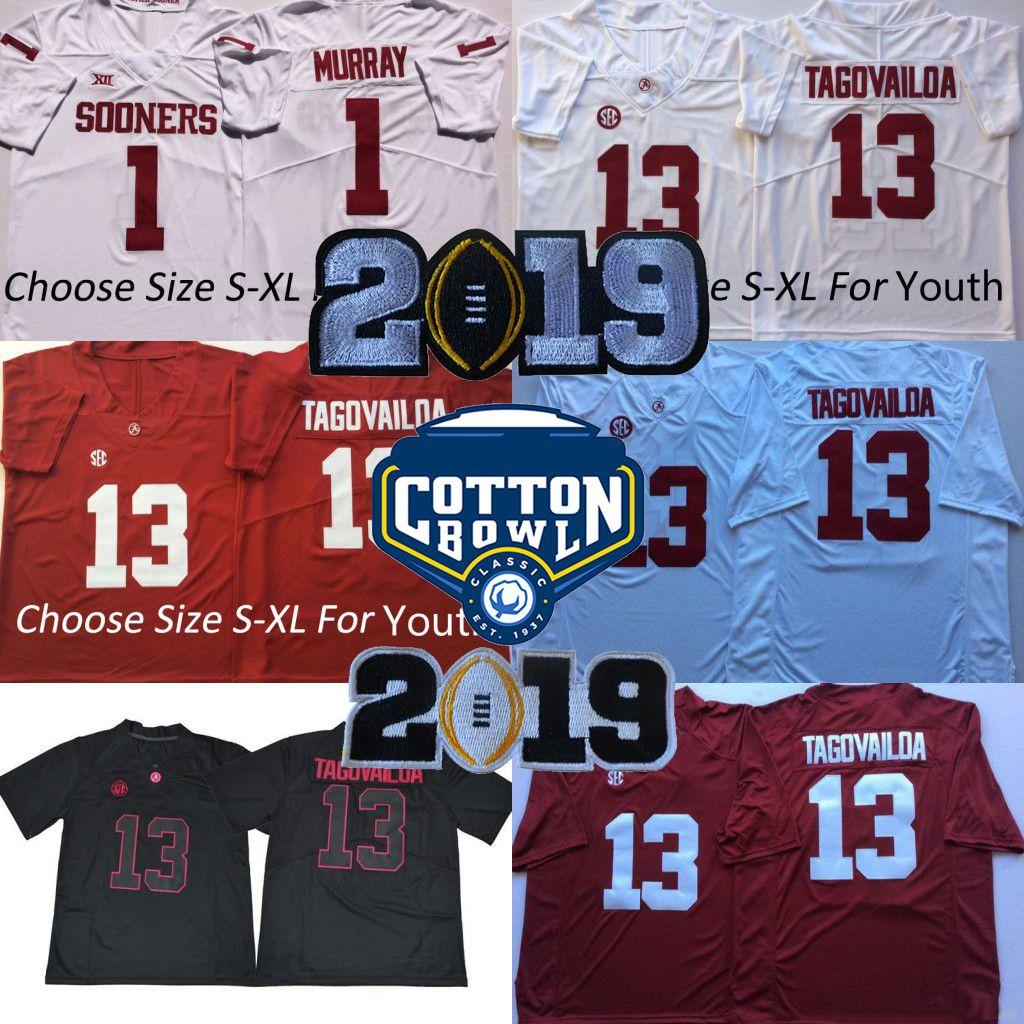 dfa4016ec Men Youth Kids 13 Tua Tagovailoa 2019 Championships Alabama Crimson ...