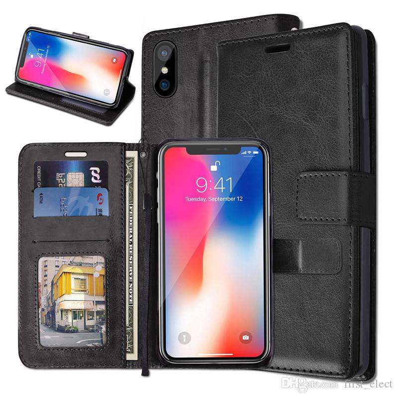 iphone xs wallet case spigen