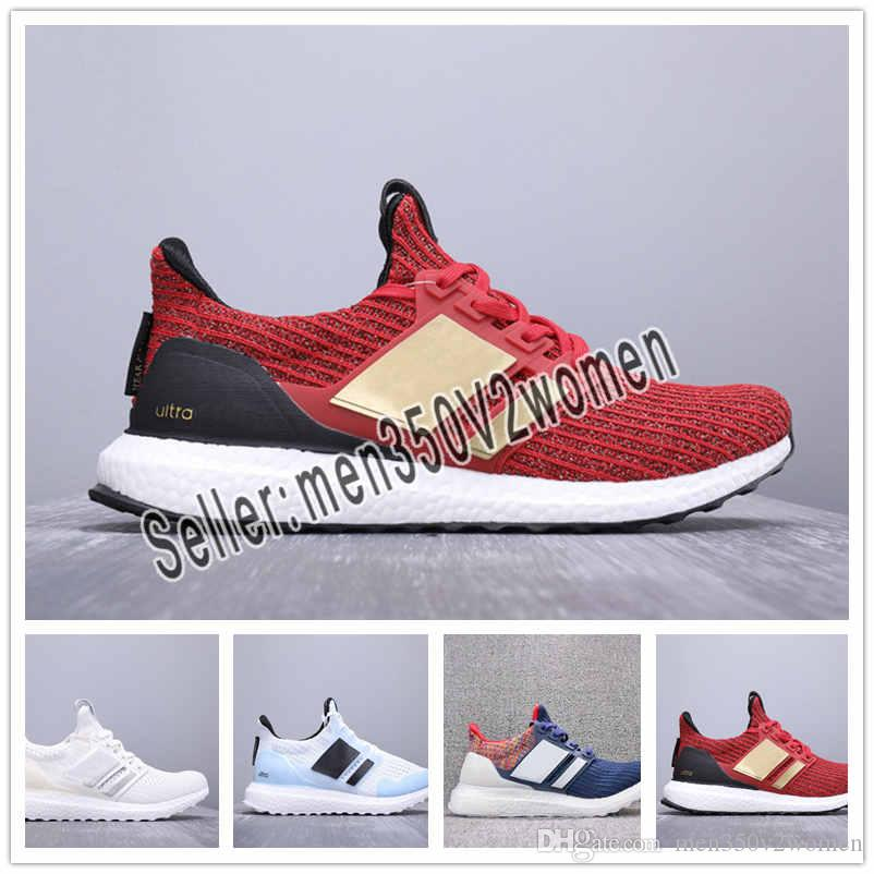 d9ed3c81956bb 2019 Ultra Boost 19 Men Women Running Shoes Ultraboost Laser Red ...