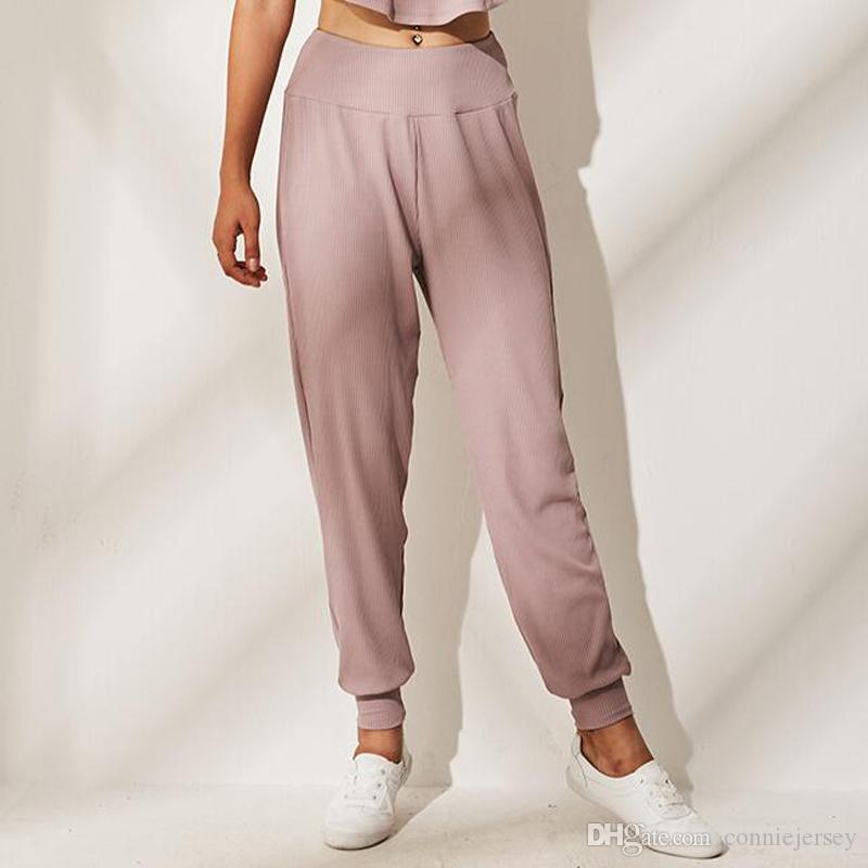 4d093d13fbe29 Acheter Pantalon De Jogging Pour Femme Jogging Yoga Outfits Pantalon De Gymnastique  Pour Femmes Pantalon De Jogging Rose De $15.74 Du Conniejersey   DHgate.