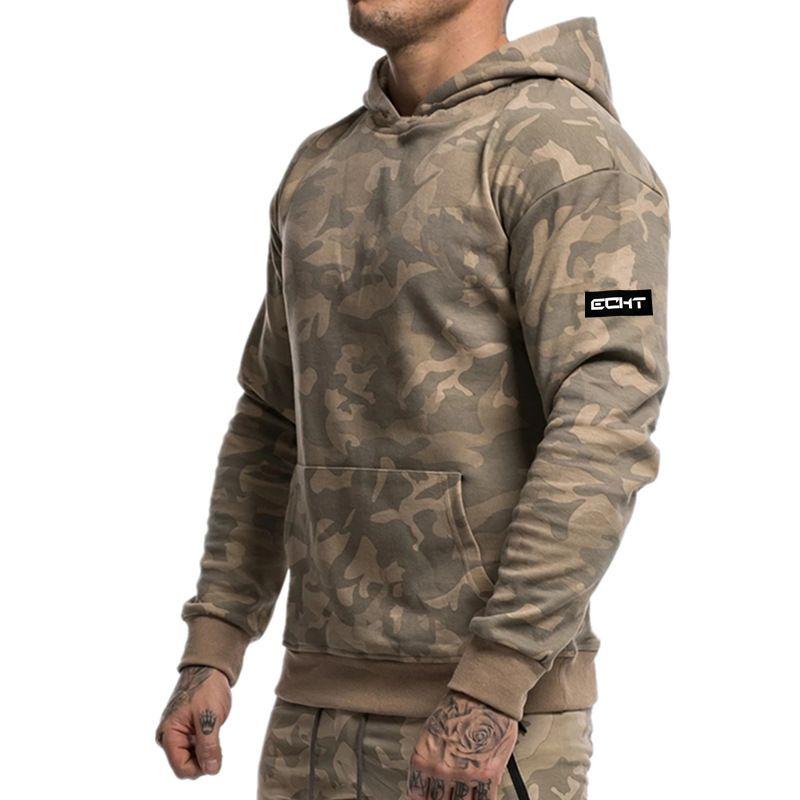 Men/'s sweatshirt gyms Fitness bodybuilding Hoodies Jacket zipper slim fit Sports