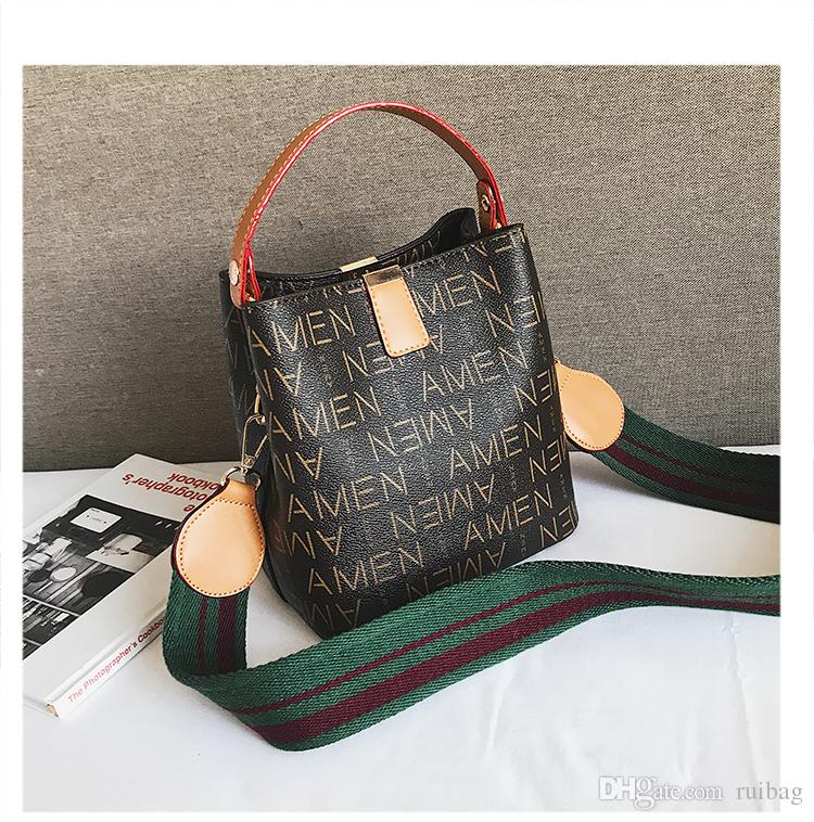 5b084b1e0a4 2018 Women PU Leather Letter Handbags Tote Bag Designer Handbag ...