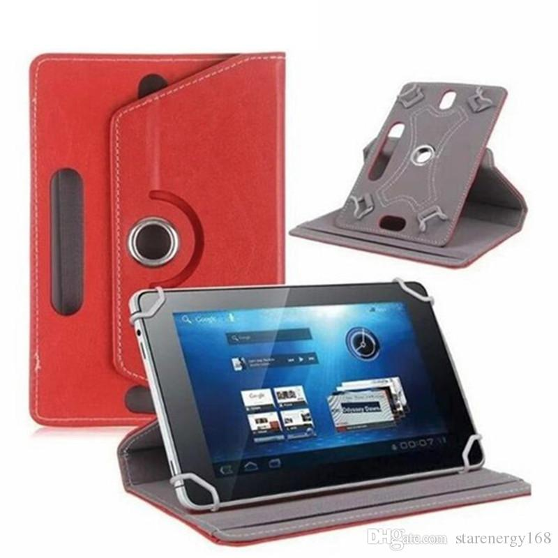 168 Leather Case 360 Degree Rotate Protective Stand Cover For Universal Android Tablet PC Fold Flip Cases Built-in Card Buckle 7 8 9 10 inch