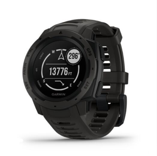 ee5cf5dac248 Relojes Bluetooth Garmin Instinct Reloj Deportivo Con GPS Para Uso Al Aire  Libre Rastreador De Ritmo Cardíaco Termómetro Brújula Altitud Medidor Reloj  ...