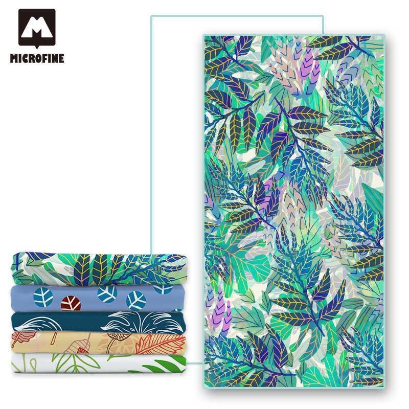 Microfine Microfiber Beach Towel Large Women Swimming Pool Bath ...
