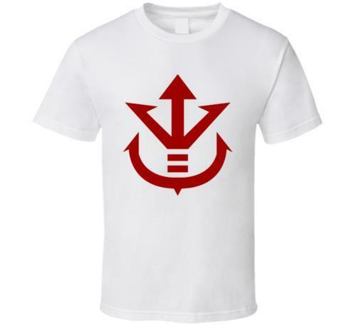 5389cc59b7e NEW KING VEGETA LOGO DRAGON BALL Z WHITE BLACK MEN S SHIRT USA SIZE S XXXL  ZM1 Funny Unisex Casual Top Be T Shirts Awesome Shirts For Men From  Paystoretees