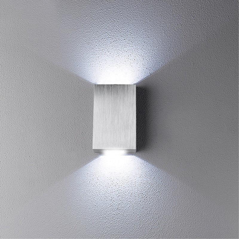 Modern LED alüminyum LED Duvar lambası Ayna Işık Başucu Koridor Banyo Aydınlatma