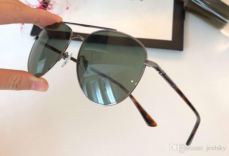 5fe227c8bd 0388 Ruthenium Grey Pilot Sunglasses Sonnenbrille Gafas De Sol Men ...